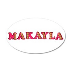Makayla 38.5 x 24.5 Oval Wall Peel