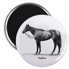 "Thoroughbred ""Ruffian"" Magnet"