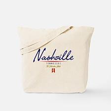 Nashville Script Tote Bag