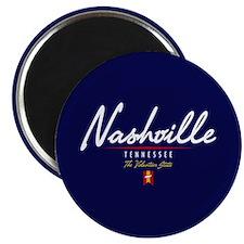 Nashville Script Magnet
