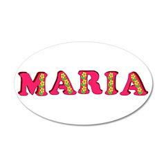 Maria 38.5 x 24.5 Oval Wall Peel