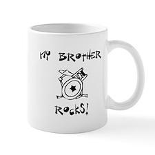 My Brother Rocks Drums Mug