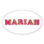 Mariah Sticker (Oval 50 pk)