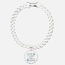 Live Dance Love Charm Bracelet, One Charm