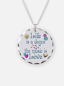 Live Dance Love Necklace