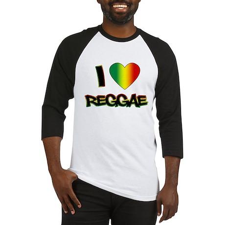 "I ""Love"" Reggae Baseball Jersey"