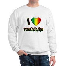 "I ""Love"" Reggae Sweatshirt"