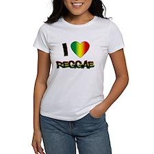 "I ""Love"" Reggae Tee"