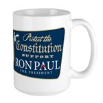 Protect the Constitution Large Mug
