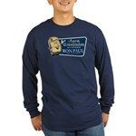 Protect the Constitution Long Sleeve Dark T-Shirt