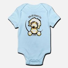 Yellow Labradoodle IAAM Infant Bodysuit