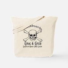 Blackbeards grog and grub Tote Bag