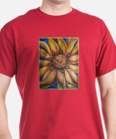 Sunflower, colorful, T-Shirt