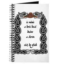 It's often that a persons mouth breaks.. Journal