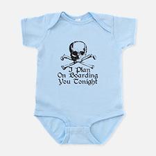Boarding You Tonight Infant Bodysuit