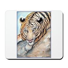 Tiger, colorful, Mousepad