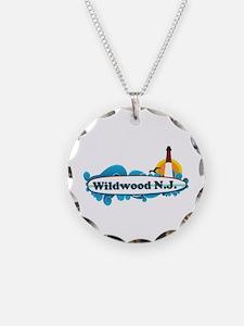 Wildwood NJ - Surf Design Necklace