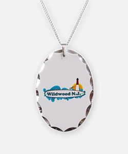 Wildwood NJ - Surf Design Necklace