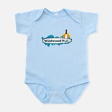 Wildwood NJ - Surf Design Infant Bodysuit