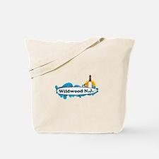Wildwood NJ - Surf Design Tote Bag