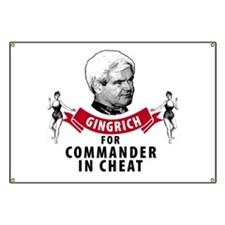 Cute Newt gingrich Banner