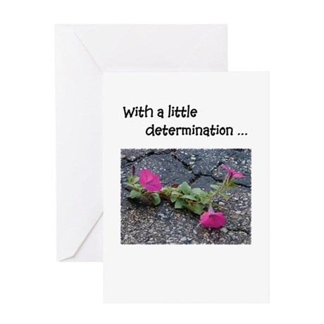 Can-do-it'tude Greeting Card: Determination