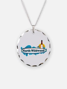 North Wildwood NJ - Surf Design Necklace