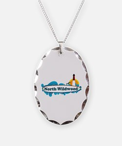 North Wildwood NJ - Surf Design Necklace