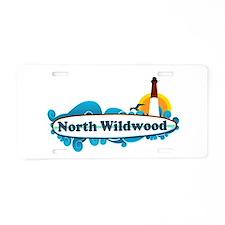 North Wildwood NJ - Surf Design Aluminum License P