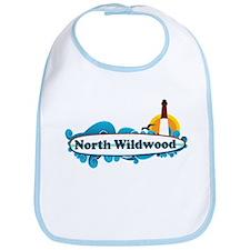 North Wildwood NJ - Surf Design Bib