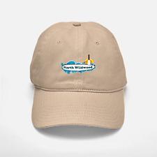 North Wildwood NJ - Surf Design Baseball Baseball Cap
