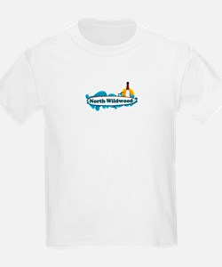 North Wildwood NJ - Surf Design T-Shirt