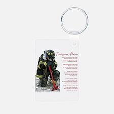Firefighter Prayer Keychains