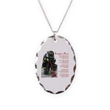 Firefighter Prayer Necklace