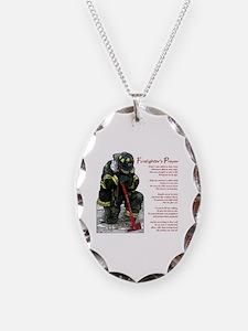 Firefighter Prayer Necklace