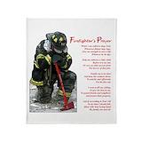 Fireman Fleece Blankets
