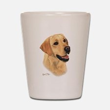 L:abrador Retriever (Yellow) Shot Glass