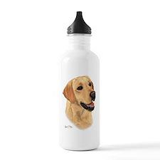 L:abrador Retriever (Yellow) Water Bottle