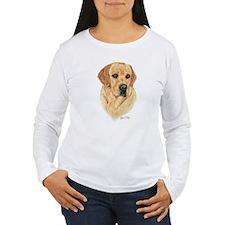L:abrador Retriever (Yellow) T-Shirt