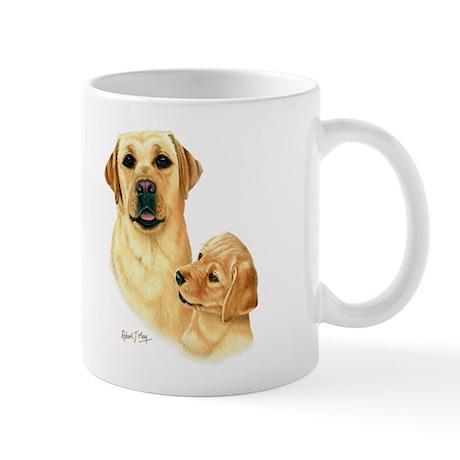 L:abrador Retriever (Yellow) Mug