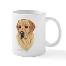 L:abrador Retriever (Yellow) Small Mug