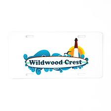 Wildwood Crest NJ - Surf Design Aluminum License P