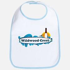 Wildwood Crest NJ - Surf Design Bib