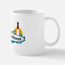 Wildwood Crest NJ - Surf Design Mug