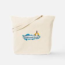 Wildwood Crest NJ - Surf Design Tote Bag
