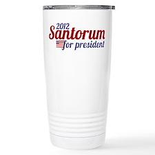 Rick Santorum 2012 Travel Mug