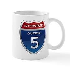 Interstate 5 - California Mug
