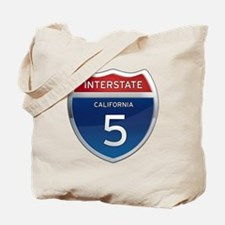Interstate 5 - California Tote Bag