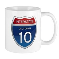 Interstate 10 - California Mug