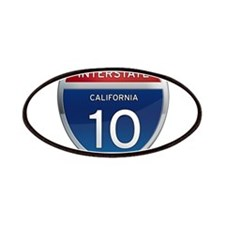 Interstate 10 - California Patches